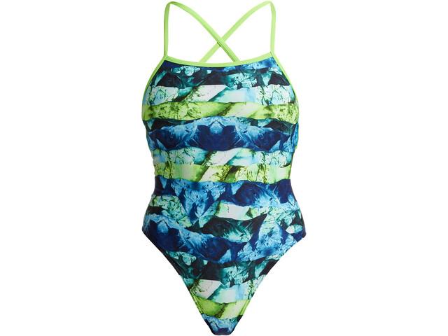 Funkita Strapped In Swimsuit Women, kolorowy